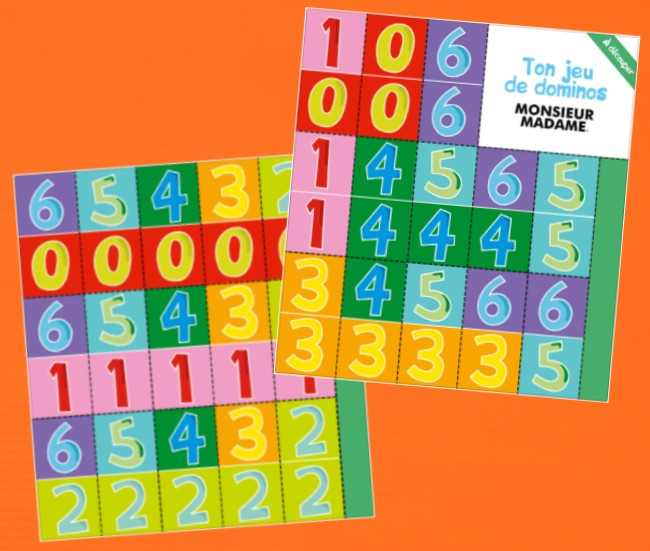 Dominos chiffres