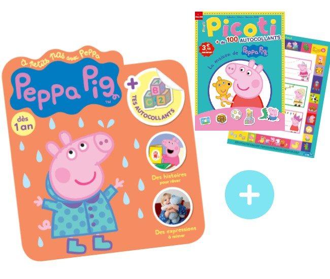 Magazine Peppa Pig bébés Oct 2020