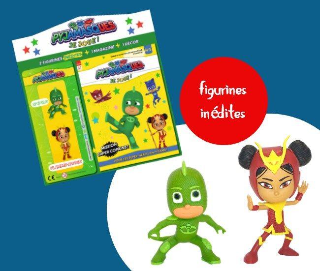 Figurines magazine Pyjamasques Je Joue